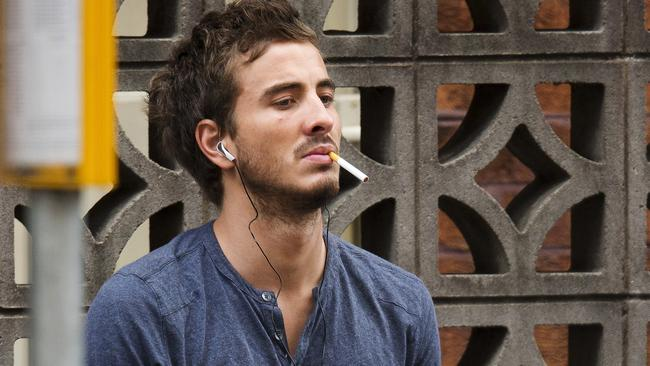 Ryan Corr faced court for possession of heroin last year. Picture: Diimex