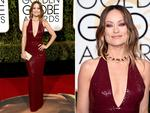 Olivia Wilde attends the 73rd Annual Golden Globe Awards held at the Beverly Hilton Hotel on January 10, 2016 in Beverly Hills, California. Picture: Jason Merritt/Getty Images