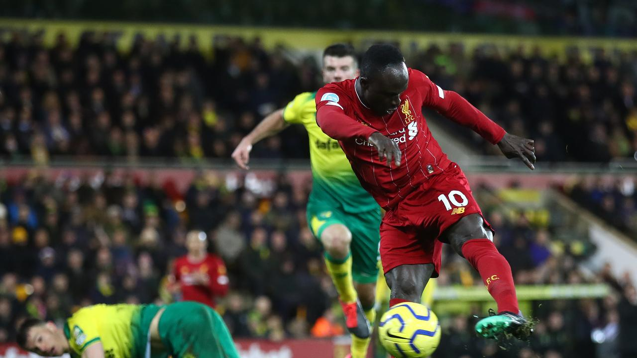 Sadio Mane scored the only goal of the game.