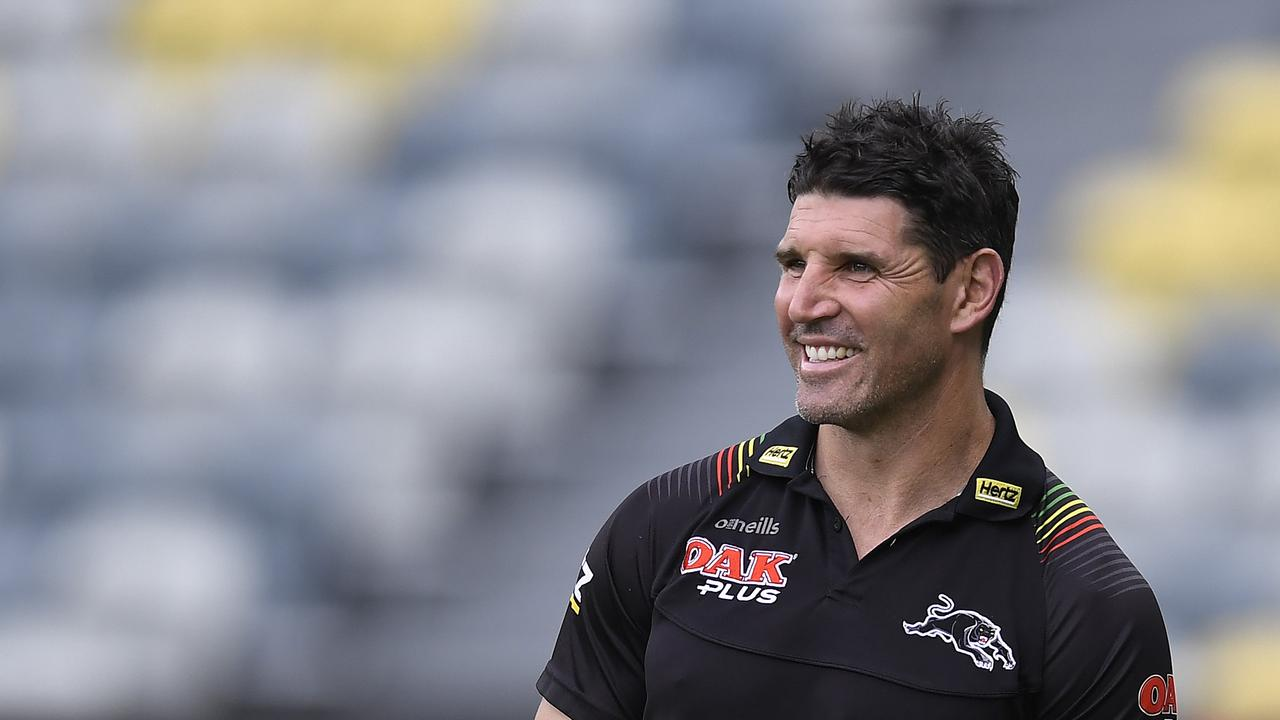 Trent Barrett was hired by the Bulldogs.