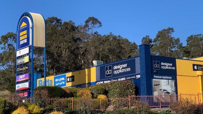 The drug couple looted the Betta electrical store (above) at Batemans Bay two weeks after a bushfire damaged it.