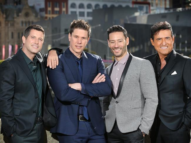 Il Divo will tour Australia later this month. Picture: David Caird