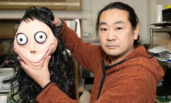 Momo creator says kids shouldn't fear because creepy character is now dead