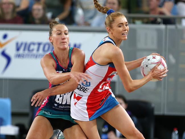Emily Mannix and Helen Housby have both re-signed with their clubs. Pic: AAP