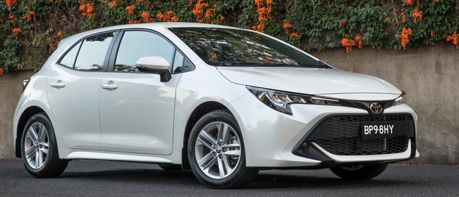 Automatic transmission problems: Toyota's new Corolla. Picture: Supplied.