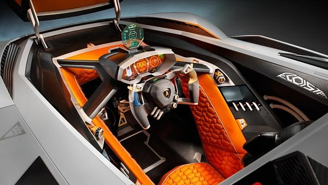 You may forget you're not driving a fighter jet in this interior.