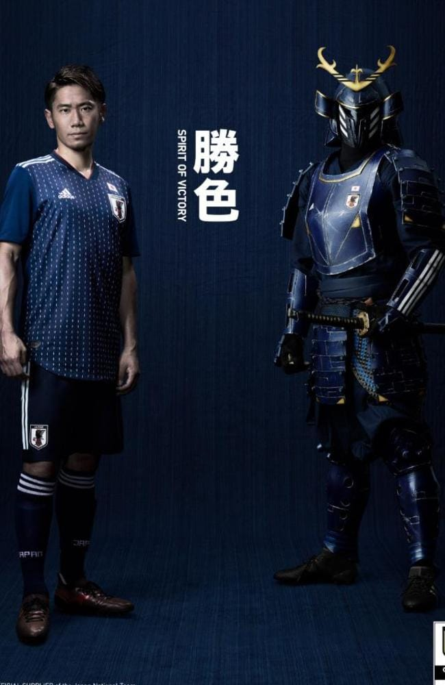 Japan's World Cup home kit