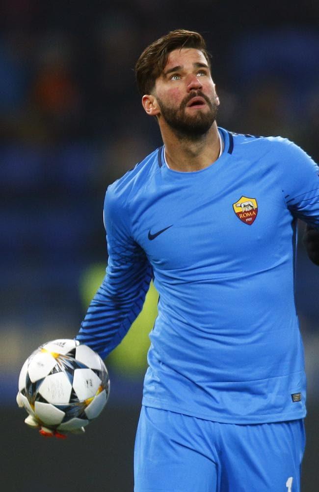 Roma goalkeeper Alisson Becker