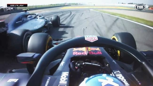 The five passes Daniel Ricciardo made to win the Chinese Grand Prix.