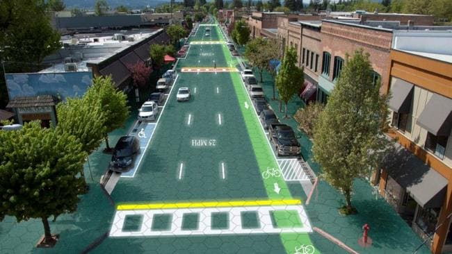 World's first solar panel roadway opens in France