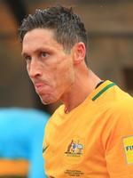 Mark Milligan after the Socceroos v Iraq World Cup Qualifier at PAS Stadium, Tehran, Iran. Picture: Mark Evans