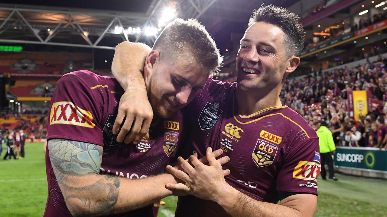 Cameron Munster is almost certain to be one of the players chosen to succeed Cooper Cronk and Johnathan Thurston in the Maroons halves. Photo: Dave Hunt