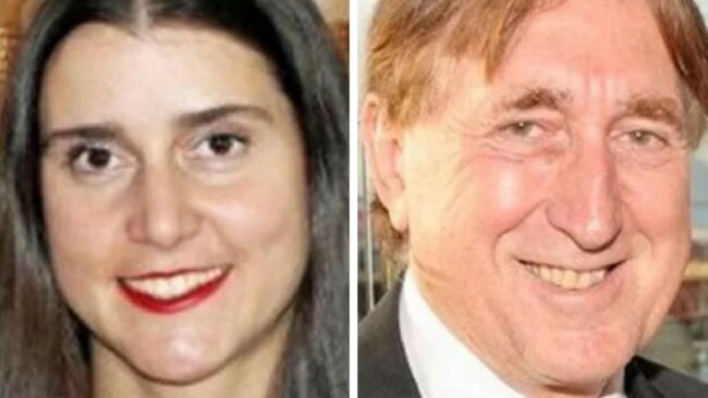 Olga Edwards and John Edwards. Source: Supplied