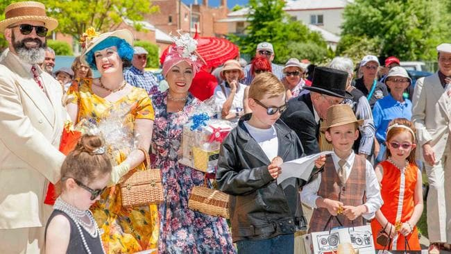 Take a step back in time at the annual Classic Yass festival in November. Picture: Supplied