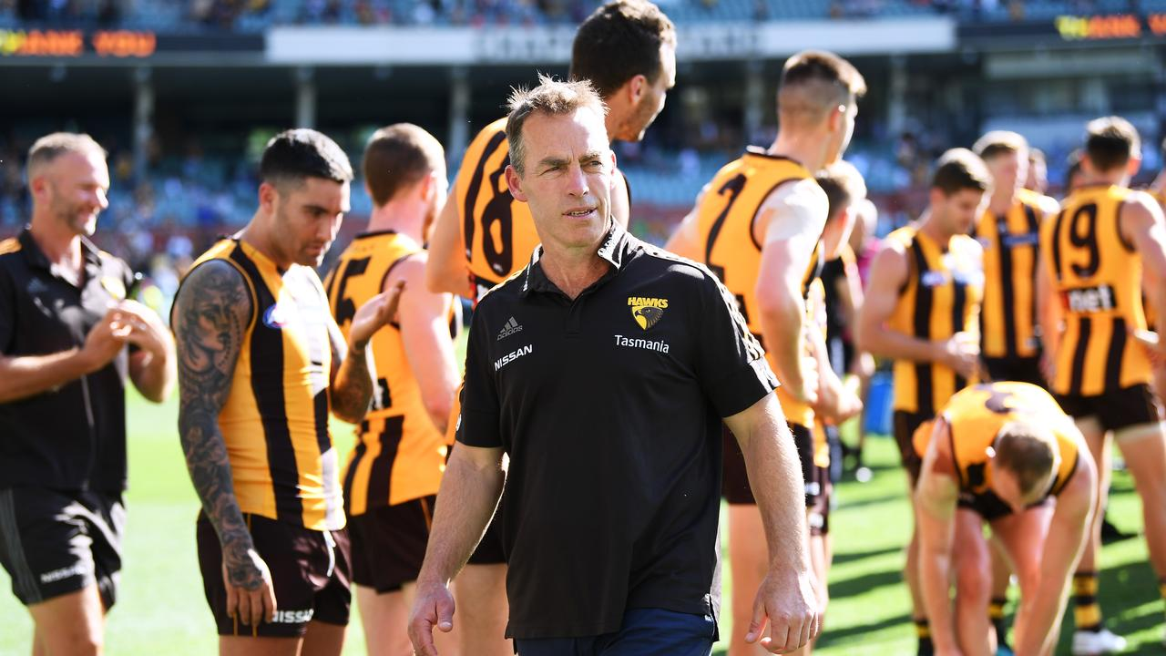Alastair Clarkson faces quite the challenge over the next couple of years coach (Photo by Mark Brake/Getty Images).