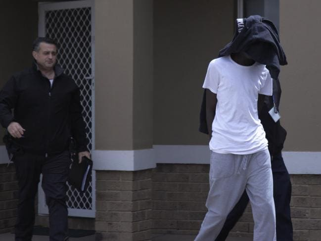 A 19-year-old Truganina man was arrested and charged in relation to home invasion and theft offences. Picture: Victoria Police