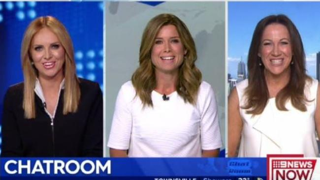 Spat, what spat? The three presenters smiled as soon as they were live on air.