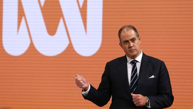 David Anderson will serve as interim managing director of the national broadcaster. Picture: John Feder/The Australian.