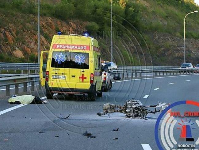 Olga was pronounced dead at the scene of the crash.