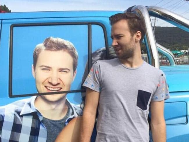 Nathan Cera went from having his face on the side of a ute to not having a job.