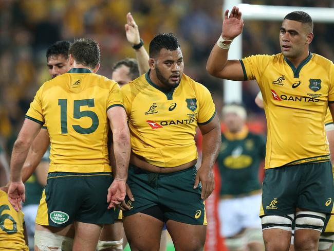 Taniela Tupou (middle) said he'd 'never apologise for my faith'.