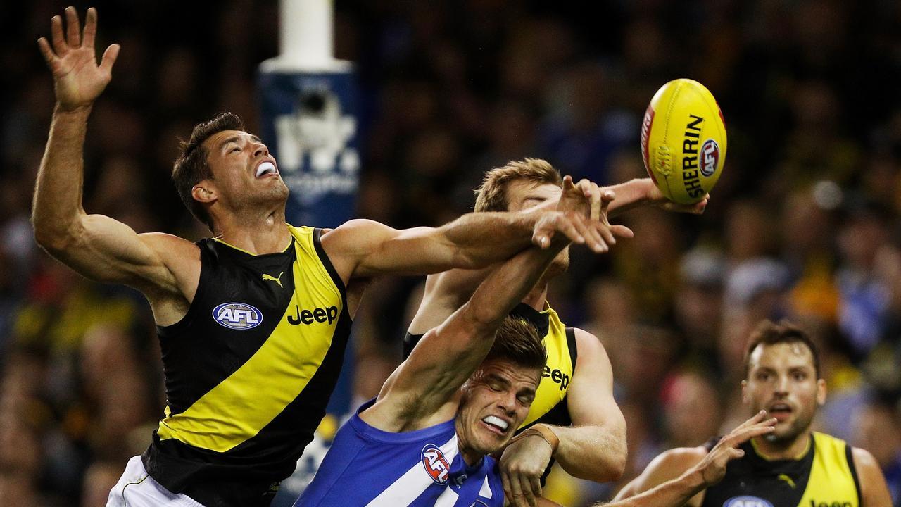 Alex Rance's anticipation sets him apart. Photo: Daniel Pockett/AFL Media/Getty Images