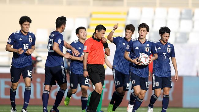 Japan had a major scare in their Asian Cup opener.
