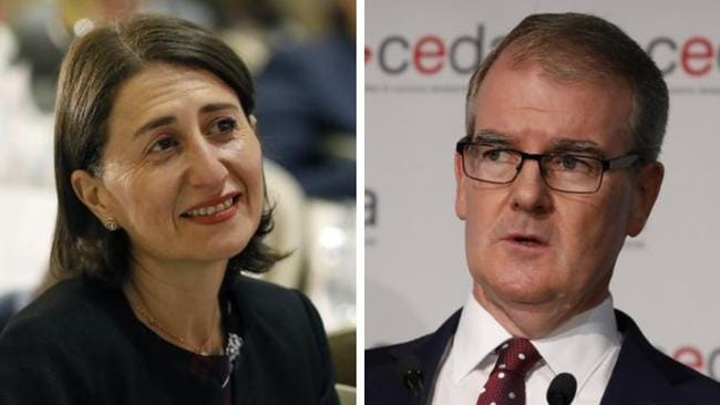 Polls are suggesting a close race between the Coalition and Labor with the Liberal's Gladys Berejiklian and Labor's Michael Daley vying to be Premier. Pictures: Christopher Pavlich