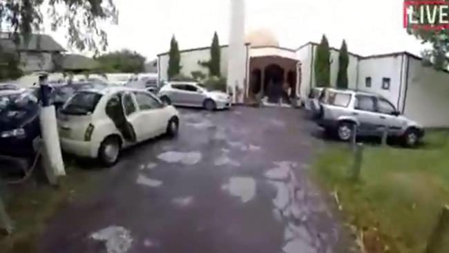 Christchurch Shooting Picture: Christchurch Mosque Shooting: Gunman Livestreams New