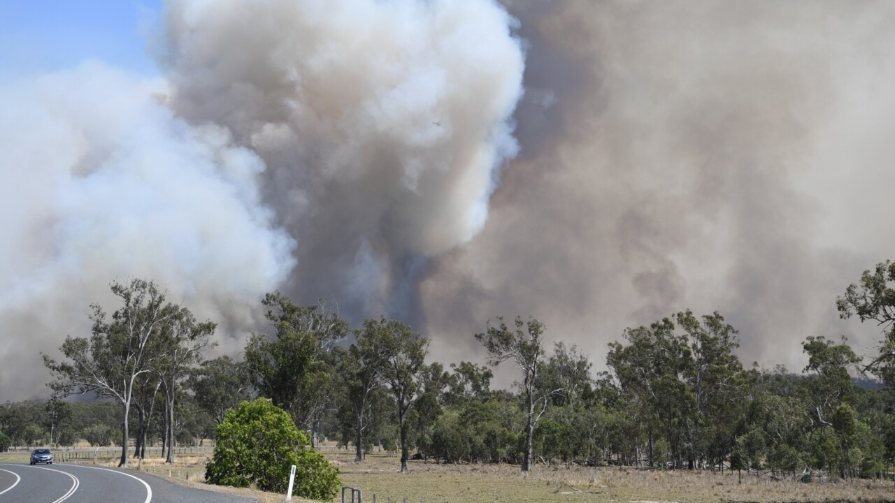 Qld firefighters on high alert as temperatures set to soar on Friday