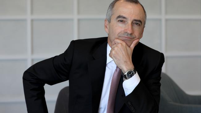 Virgin Australia CEO John Borghetti has announced he would step down from his role after 2020. Picture: Chris Pavlich