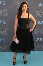 America Ferrera attends the 21st Annual Critics' Choice Awards at Barker Hangar on January 17, 2016 in Santa Monica, California. (Photo by Jason Merritt/Getty Images)