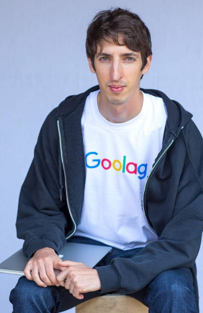 Former Google software engineer James Damore.
