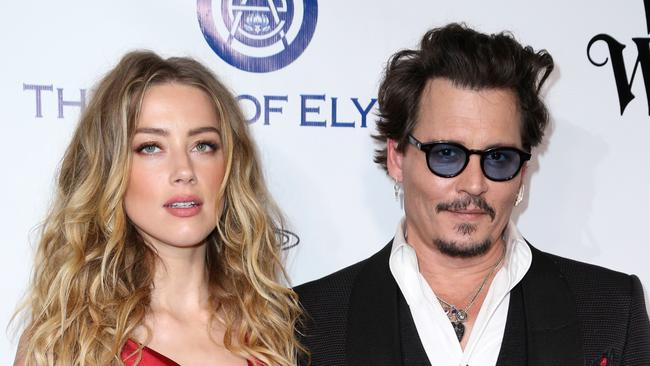 The couple met on the set of their film The Rum Diary. Picture: Rich Fury/Invision/AP, File