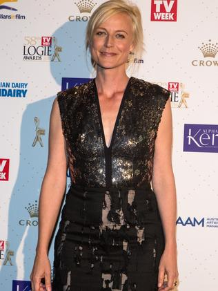 Marta Dusseldorp, was the ceremony when nominated for the Best Actress award, for her role in Foxtel's A Place To Call Home, the drama which itself garnered a Most Outstanding Drama award nomination. Picture: Mark Dadswell