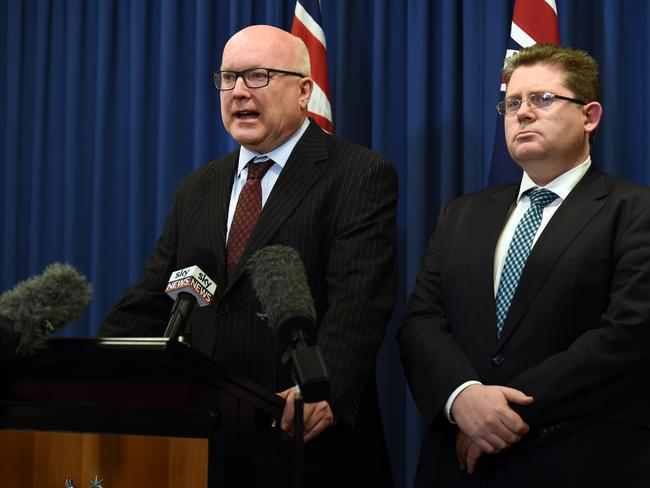 Senator Brandis hit out at Labor for refusing to state their position on the plebiscite Bill after consultation talks failed.