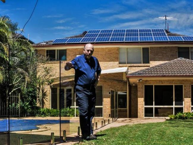 Greg Maclean has an Evergen solar system installed at his Sydney home.
