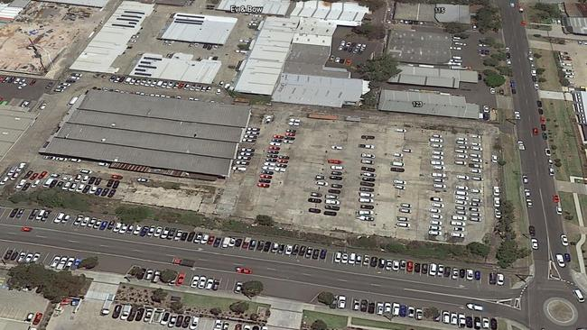 It is the third time a major retailer has pulled out of the site. Picture: Google Earth