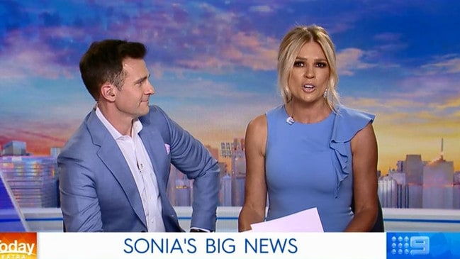 Sonia Kruger has announced on air she is leaving Today Extra.