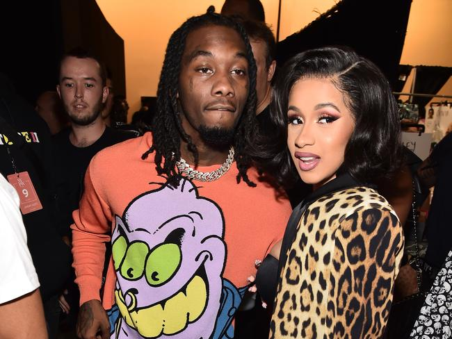 The brawl reportedly started over allegations two female bartenders had sex with Cardi B's husband, Offset. Picture: Getty Images