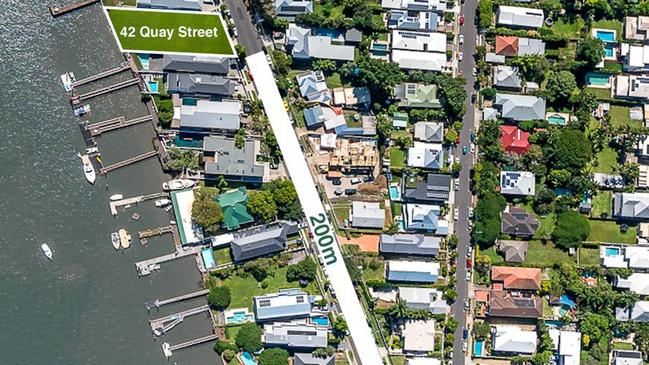 The home is 200 metres to Oxford Street and the Bulimba ferry terminal.