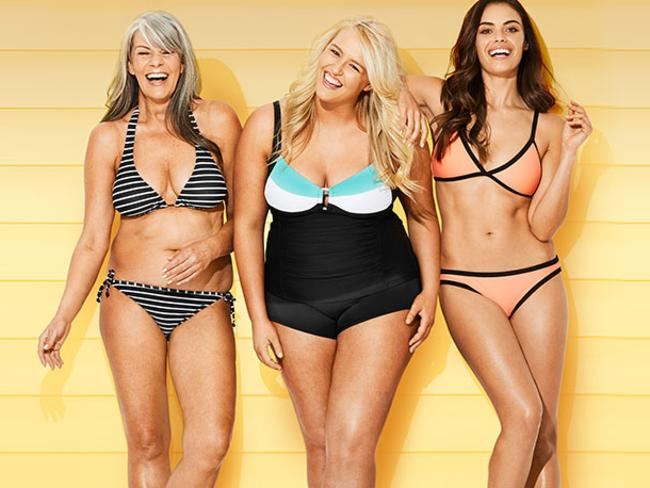 Target Australia Real Women campaign. Picture: Target