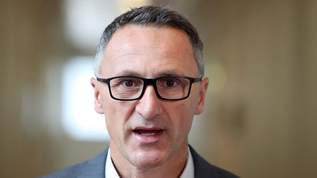 Greens leader Richard Di Natale says he's found a loophole to dodge the Prime Minister's citizenship ceremony ban. Picture: Kym Smith