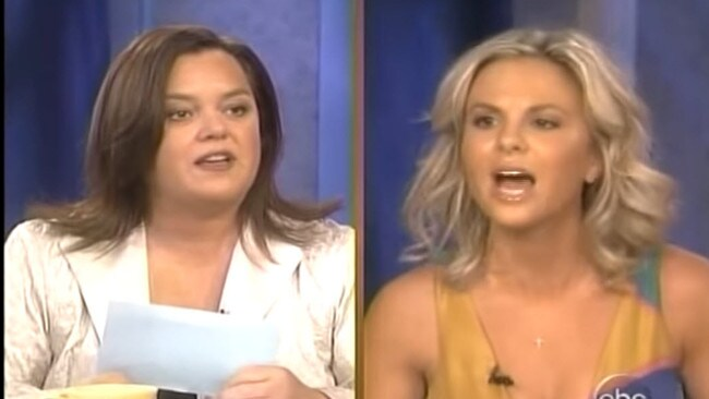 Rosie O'Donnell vs. Elisabeth Hasselbeck: The pair, once friends, had become bitter adversaries.