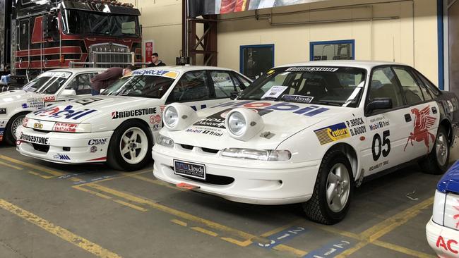 Peter Brock's around-Australia rally car. Picture: Joshua Dowling.
