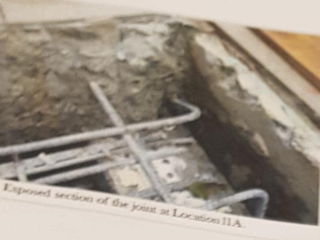 Mascot Towers apartment owners were shown shocking photos of the building's deterioration at an emergency meeting last night.