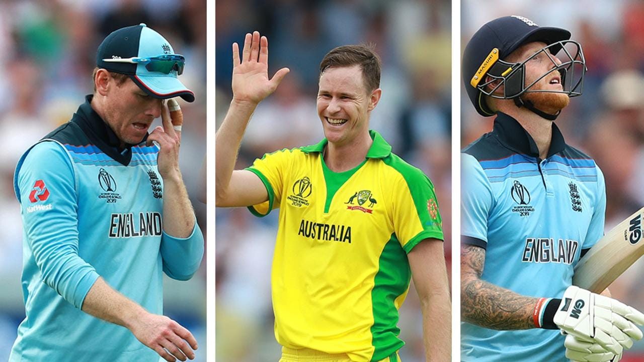 Australia has thrashed England at Lord's.