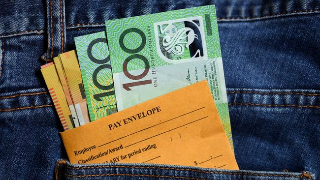 Wage growth remains flat and there's little sign of improvement on the horizon. Picture: AAP
