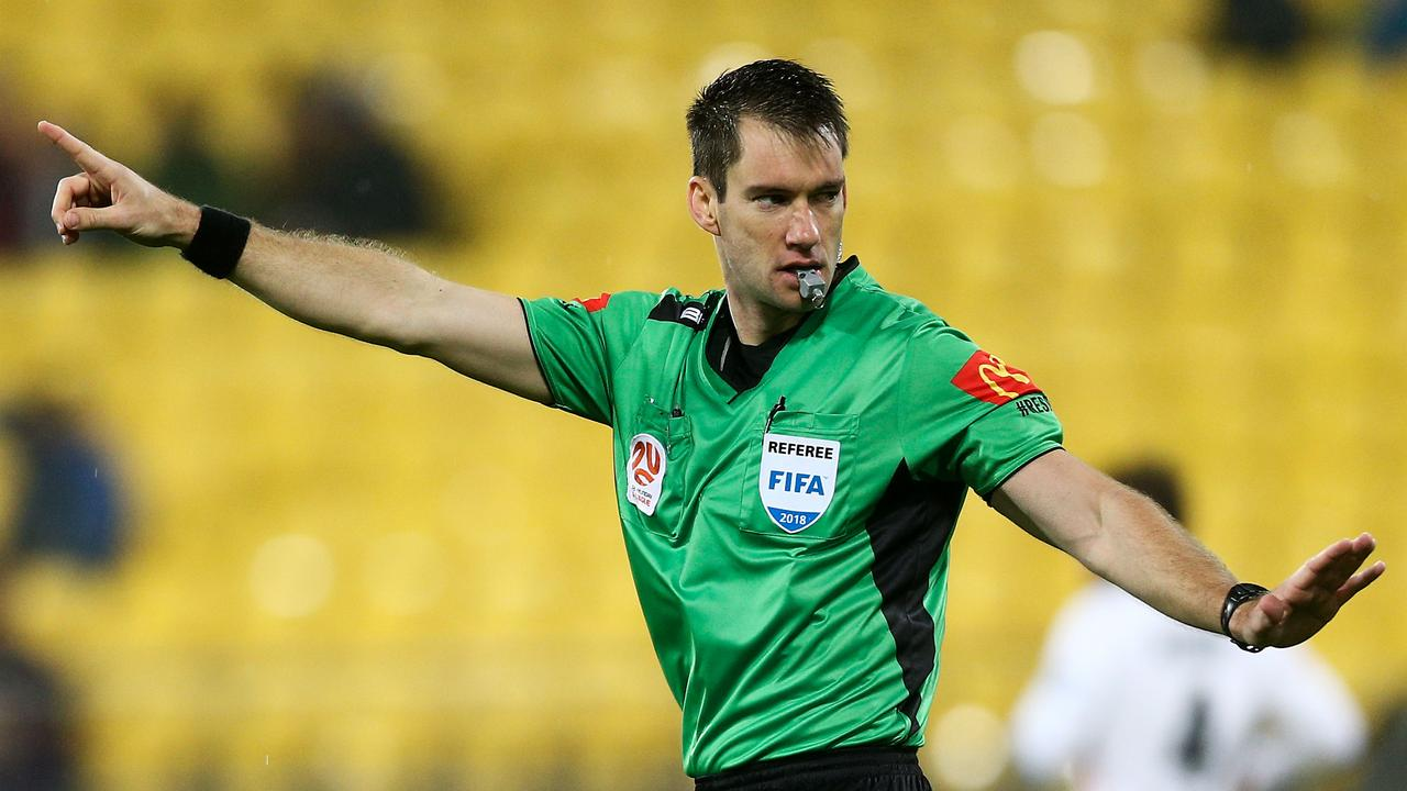 Former A-League ref Jarred Gillett will become the first Aussie to officiate a Premier League game