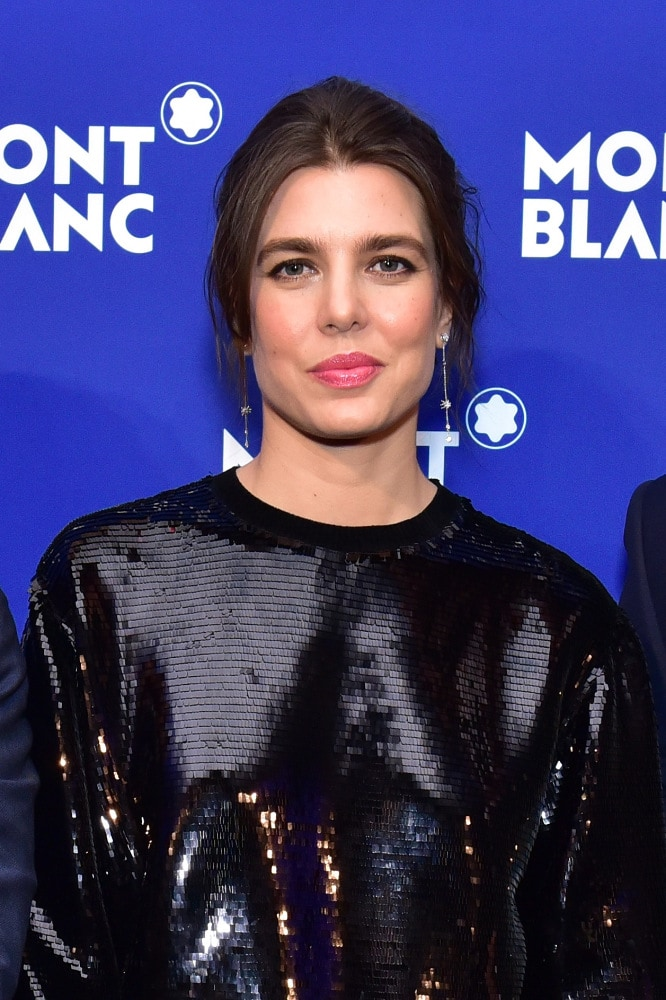 No, Monaco royal Charlotte Casiraghi and her partner are not breaking up, but they are suing the press